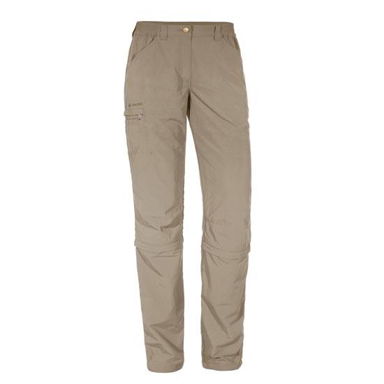 Vaude Farley Zo Capri Pants W - Muddy
