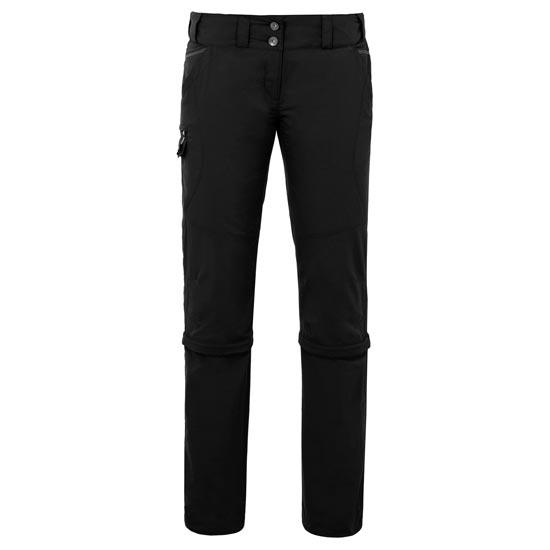 Vaude Skomer Capri Zo Pants W - Black
