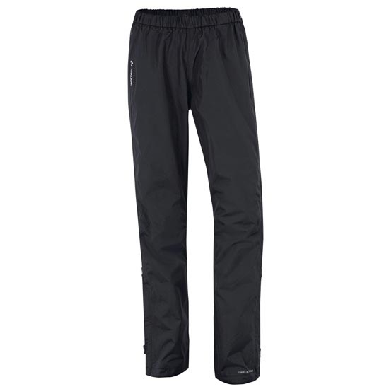 Vaude Fluid Full-Zip Pants W - Black
