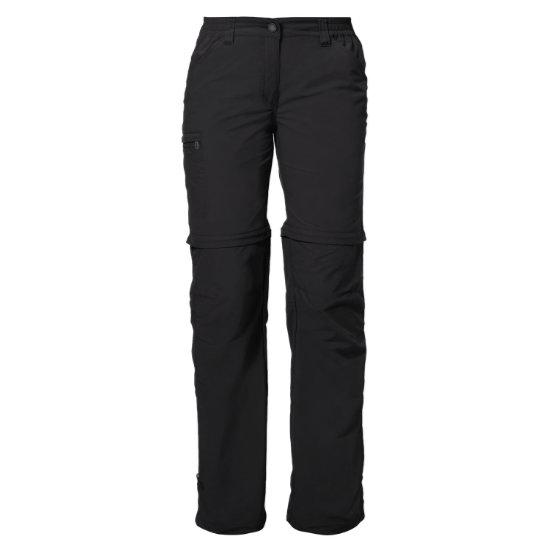 Vaude Farley Zo Pants IV W - Black