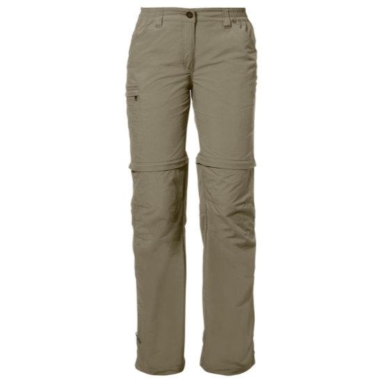 Vaude Farley Zo Pants IV W - Muddy