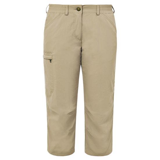 Vaude Farley Capri Pants IV W - Muddy