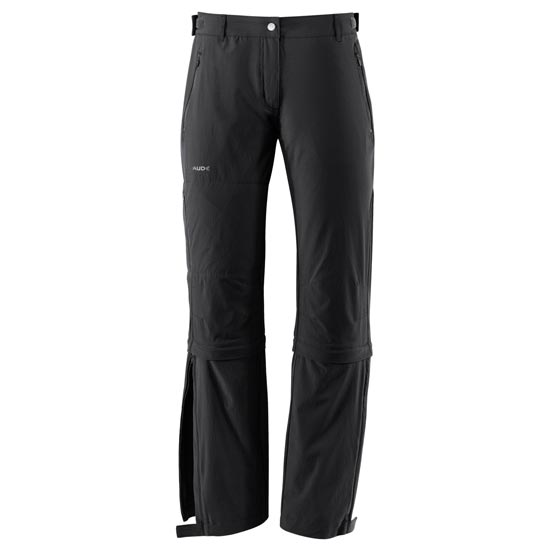 Vaude Farley Stretch Capri T-Zip II - Black