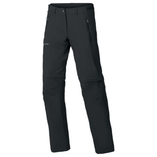 Vaude Farley Stretch Zo T-Zip Pants W - Black