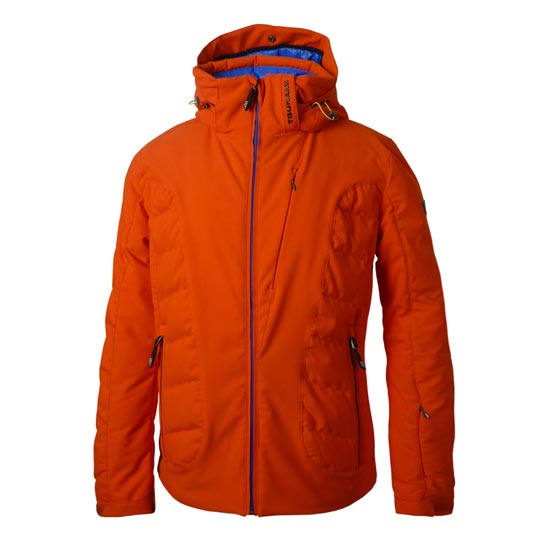 Tsunami Helium Jacket W - Naranja