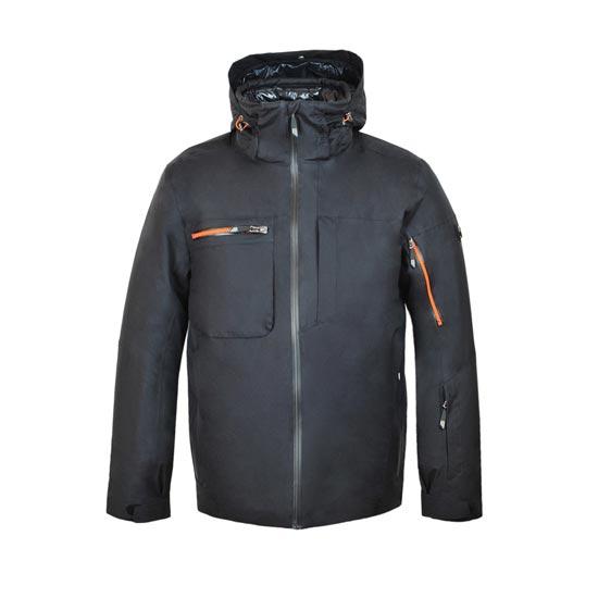Tsunami Ingravity Jacket - Negro/Naranja