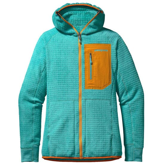Patagonia R3 Hoody W - Howling Turquoise