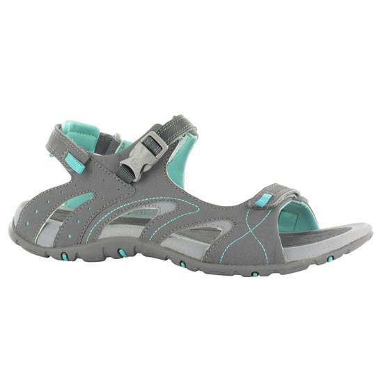 Hi-tec Indra Strap - Graphite/Light Grey/Aqua