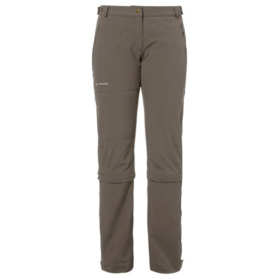 Vaude Farley Stretch Capri T-Zip II - Coconut
