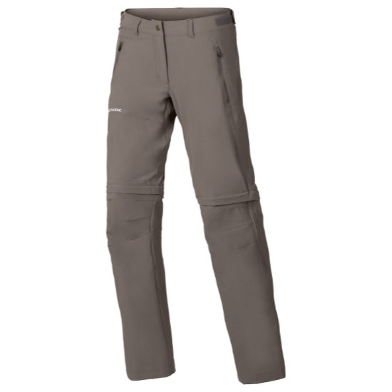 Vaude Farley Stretch Zo T-Zip Pants W - Coconut