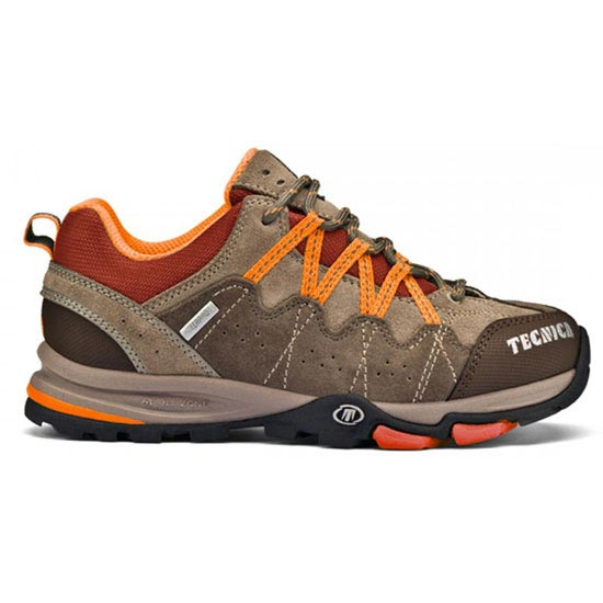 Tecnica Cyclone Low TCY Jr - Warm Grey/Rust