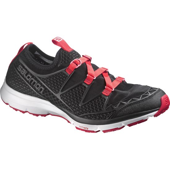 Salomon Crossamphibian W - Black/Black/Lotus Pink