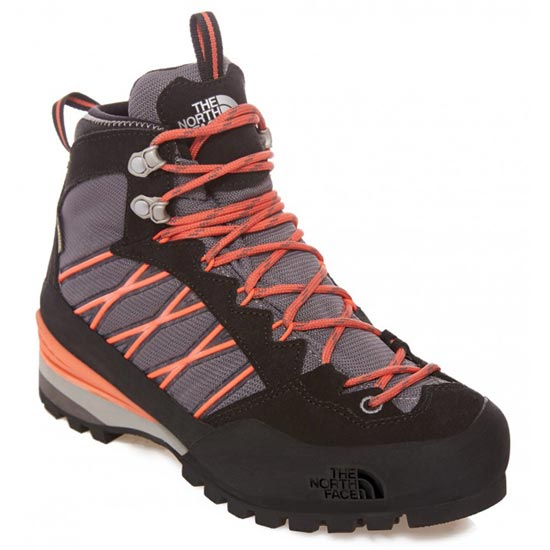 The North Face Verto S3K GTX W - Q-Silver Grey/Radiant Orange