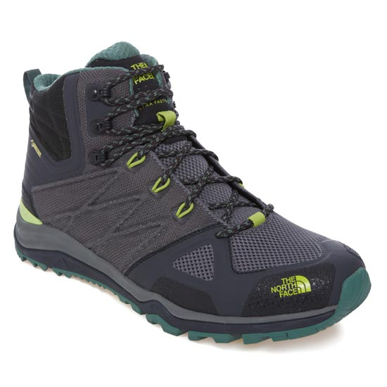 The North Face Ultra Fastpack 2 Mid GTX - Dark Grey/Lime Green