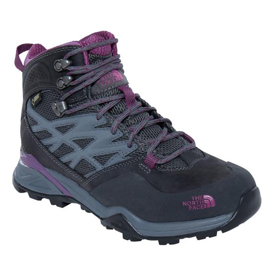 The North Face Hedgehog Hike Mid GTX W - Dark Shadow Grey/Wood Violet