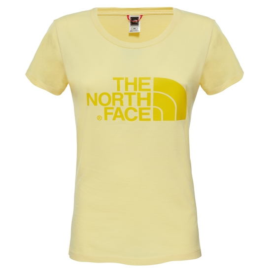 The North Face S/S Easy Tee W - Sunshine
