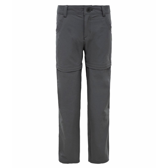 The North Face Argali Convertible Hike Pant Girl - Asphalt Grey