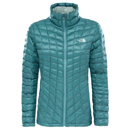 The North Face Thermoball Jacket W - Trellis Green/Trellis Green Borealis Print