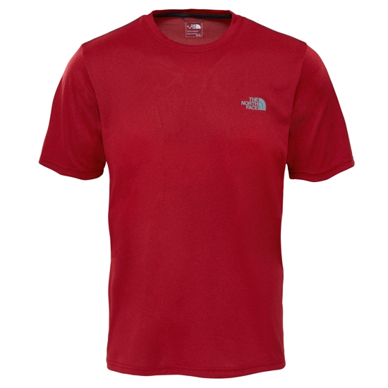 The North Face Reaxion Ampere Crew - Cardinal Red Heather