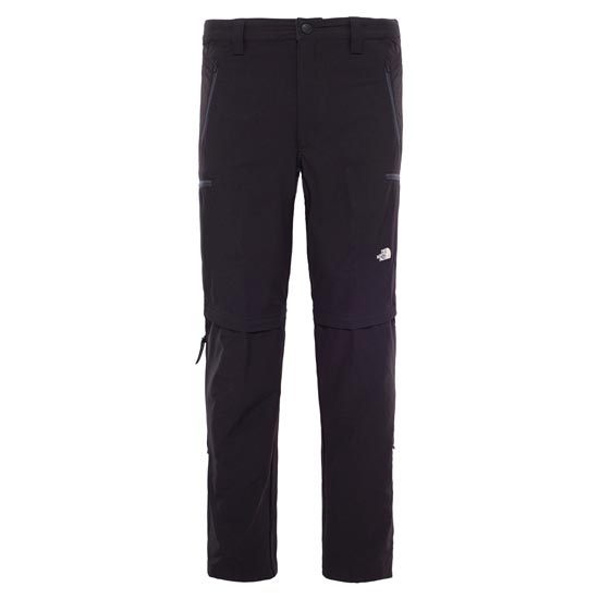 The North Face Exploration Convertible Pant - TNF Black
