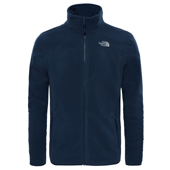 The North Face 100 Glacier Full Zip - Urban Navy/Urban Navy