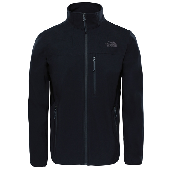 The North Face NIMBLE HOODIE - Chaqueta soft shell - black e5kkXh