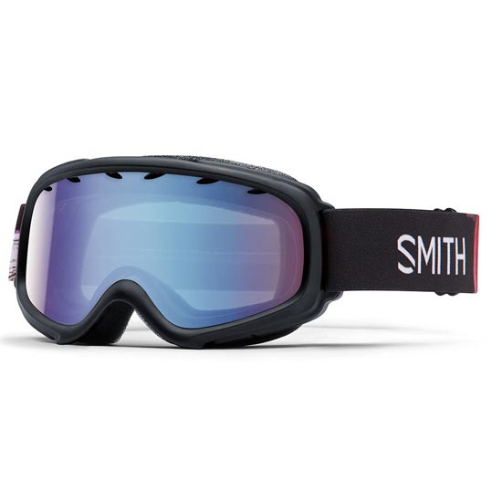 Smith Gambler Air Jr - Black Angry Birds/ Blue Sensor Mirror