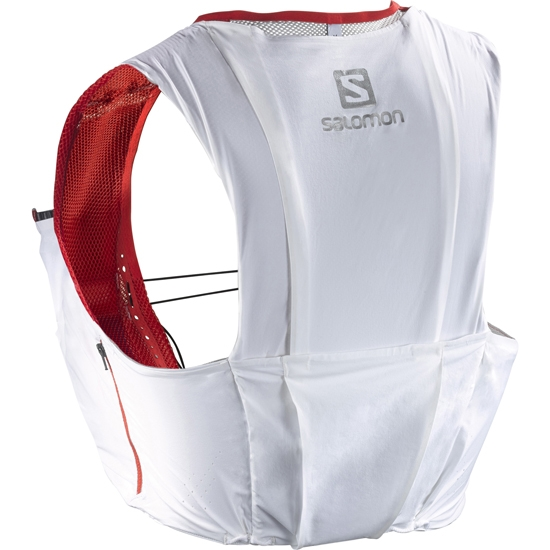 Salomon S-lab S-Lab Sense Ultra 8 Set - White/Racing Red