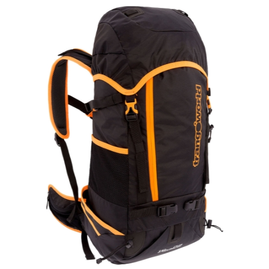 Trangoworld Ski Tour 28 FT - Negro/Fluor Orange