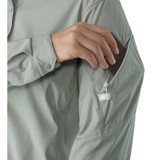 Arc'teryx Fernie Ls Shirt W - Photo of detail