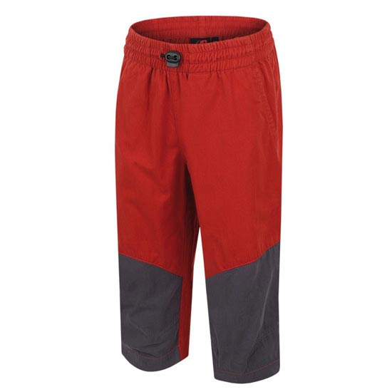 Hannah Ruffy 3/4 Pants Jr - Ketchup/Graphite