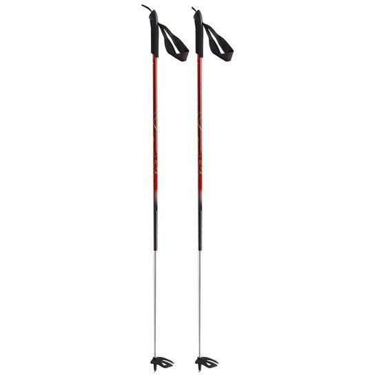 Dynafit Nanga Parbat Pole - Darkred/Neon