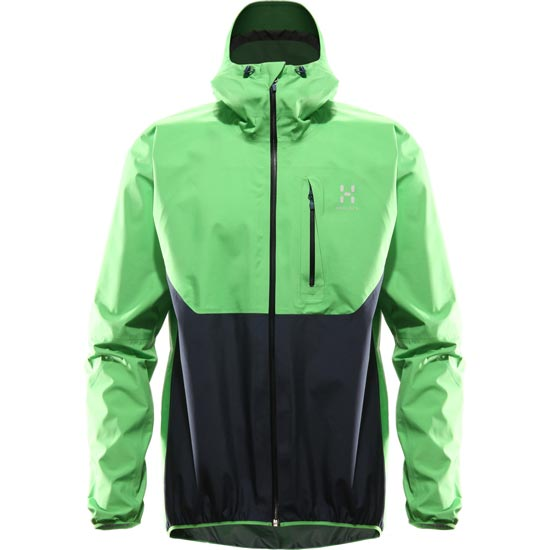 Haglöfs Gram Comp Jacket - Brillant Green/Navy Blue