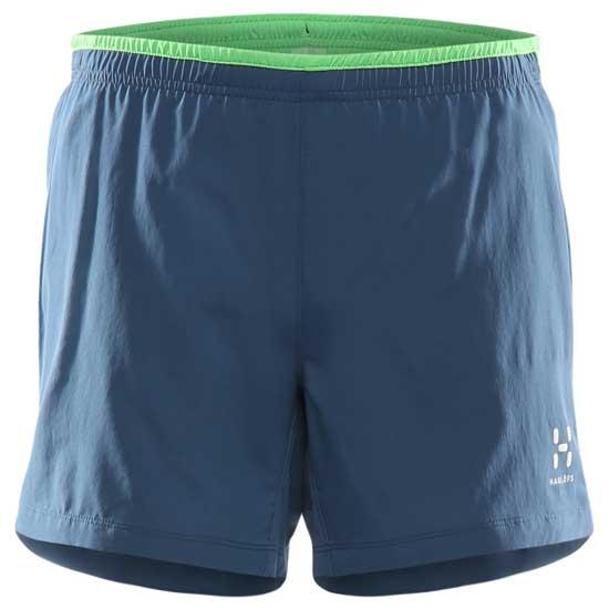 Haglöfs L.I.M Plus Shorts - Blue Ink/Sugarsnap Green