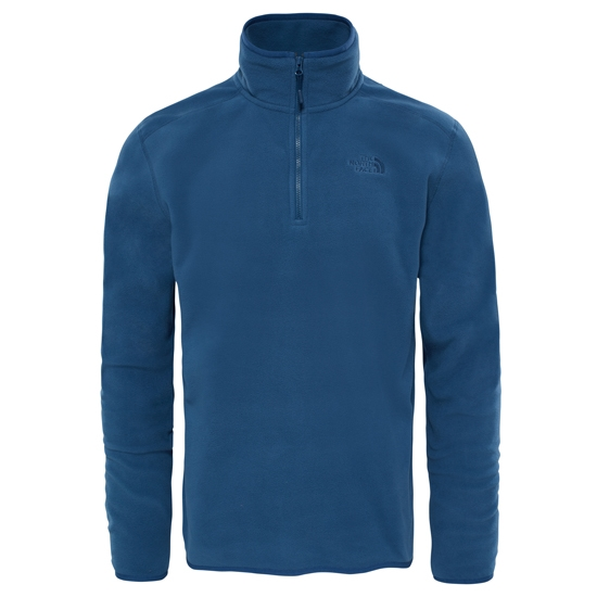 The North Face M 100 Glacier 1/4 Zip - Shady Blue