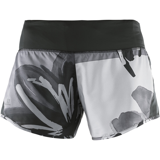 Salomon Elevate 2in1 Short W - Black/Quietshade