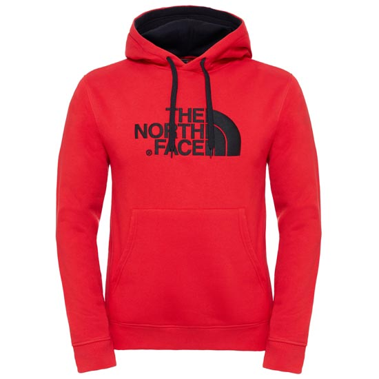 The North Face Drew Peak Pullover Hoodie - TNF Red/TNF Red