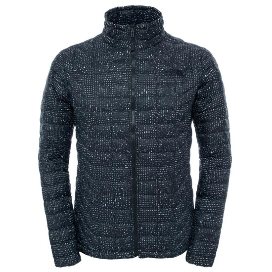 The North Face Thermoball Full Zip Jacket - TNF Black Morpheus Print