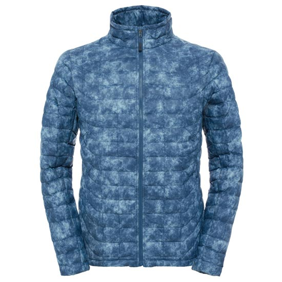 The North Face Thermoball Full Zip Jacket - Shady Blue Process Print
