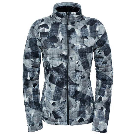 The North Face Thermoball Jacket W - TNF Black Swashed Print