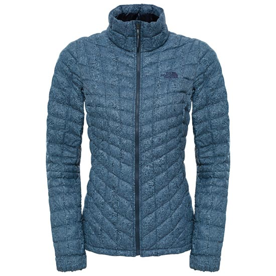 The North Face Thermoball Jacket W - Cosmic Blue Frequency Print