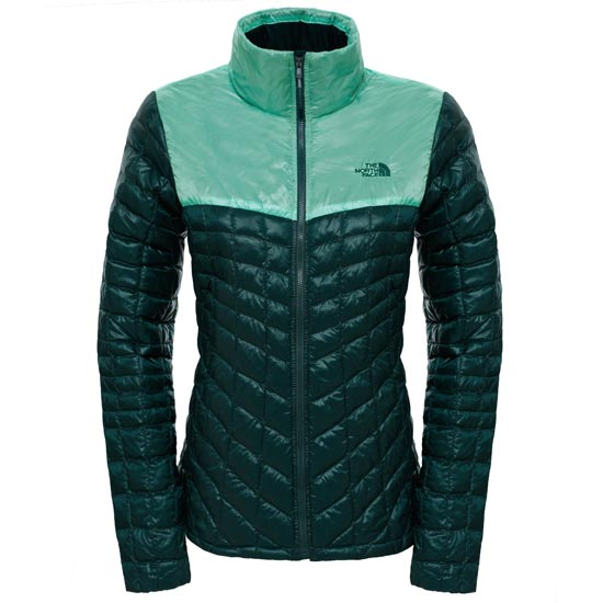 The North Face Thermoball Jacket W - Darkest Spruce/Ice Green