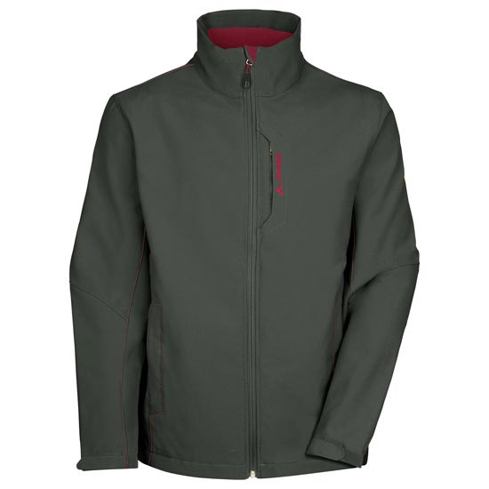 Vaude Cyclone Jacket IV - Olive/Red
