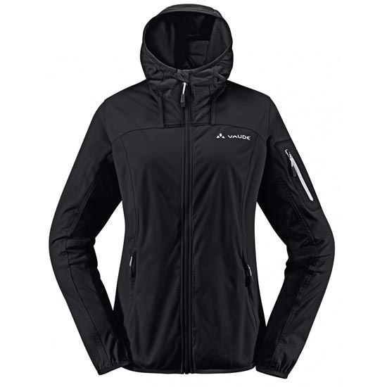 Vaude Durance Hooded Jacket W - Black