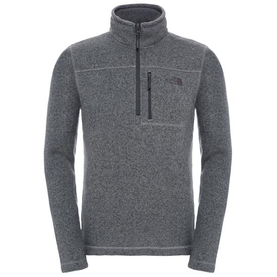 The North Face Gordon Lyons 1/4 Zip - TNF Medium Grey Heather