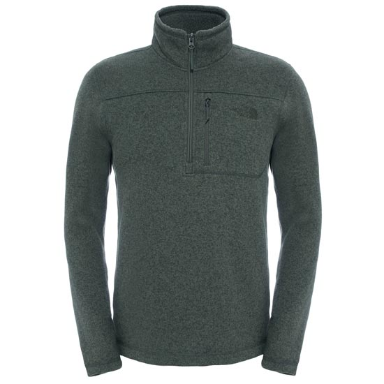 The North Face Gordon Lyons 1/4 Zip - Climbing Ivy Green Heather