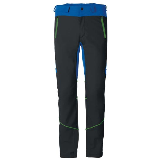 Vaude Larice Pants II - Black/Blue