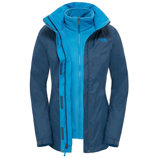 The North Face Evolve II Triclimate Jacket W - Shady Blue