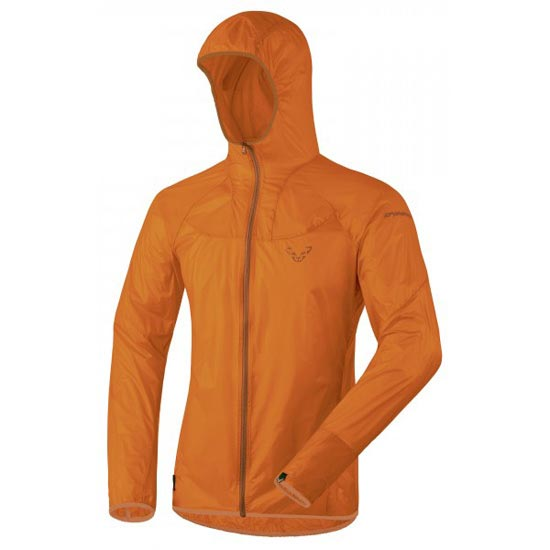 Dynafit React Ultralight Jacket - Carrot