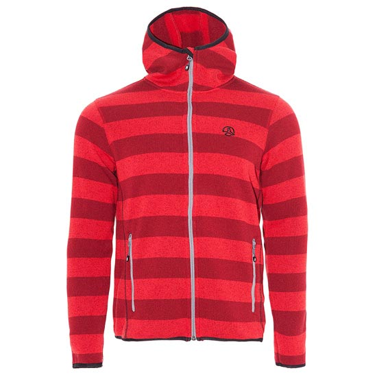 Ternua Lost River Jacket - Red Strippes